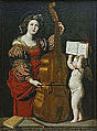 Domenichino - Saint Cecilia Playing the Viol 01.jpg