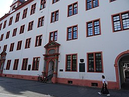 Universitätsstraße in Mainz