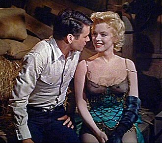 Bus Stop (1956 film) - Don Murray and Marilyn Monroe