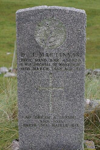 Scarp, Scotland - Image: Donald J Mac Lennan