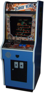 Donkey Kong arcade at the QuakeCon 2005.png