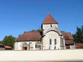 L'église Saint-Armand.