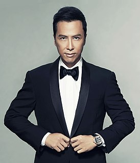Donnie Yen Hong Kong actor, martial artist, film director, producer, and action choreographer
