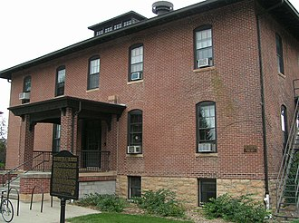 Morris Industrial School for Indians - Dormitory of the Morris Industrial School for Indians today on the campus of University of Minnesota Morris