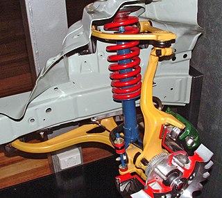 Double wishbone suspension Automotive independent suspension design