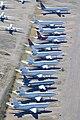 Douglas DC10s & Boeing 767s - Pinal Air Park (13804693145).jpg