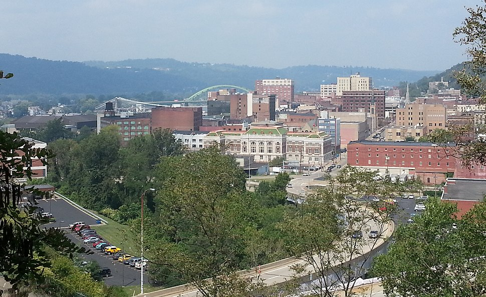 Downtown Wheeling, WV From Chapel Hill