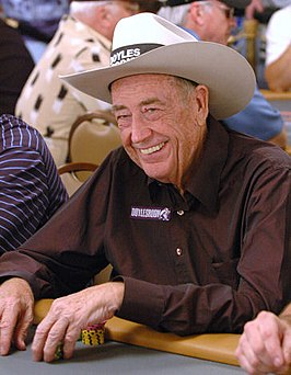 Doyle Brunson op de World Series of Poker 2006