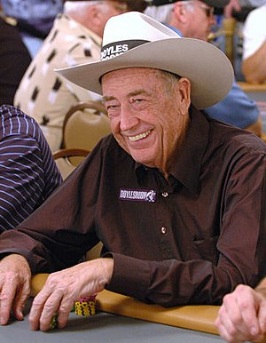 Doyle Brunson - Brunson at the 2006 World Series of Poker.