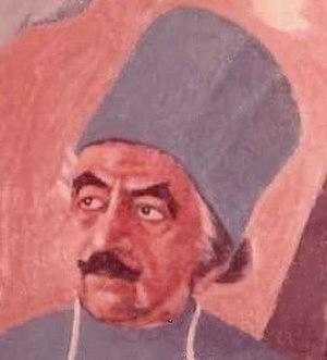 Israel Tsvaygenbaum -  Section of Tsvaygenbaum's portrait Dr. Ilizarov 1988