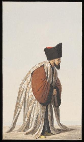Dragoman of the Porte - Image: Dragoman, or Chief Interpreter