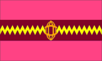 Dhrangadhra State - Image: Drapeau Dhrangadhra