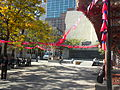 Drapeaux de la République de Chine pour jour Double-Dix, Montréal.jpg