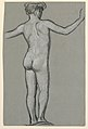 Drawing, figure study for a fountain design, ca. 1890 (CH 18404467).jpg