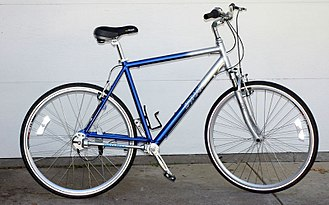 """Shaft-driven bicycle - Dynamic """"Runabout"""" 7 shaft-driven bicycle"""