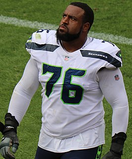 Duane Brown American football offensive tackle
