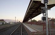 Dubbo railway station platform