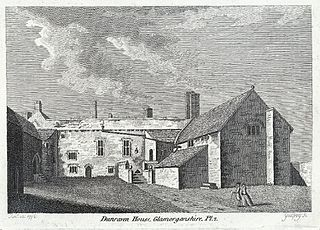 Dunraven house, Glamorganshire