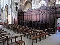 Duomo di berna (munster), interno, coro.JPG