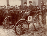 Frank Duryea, winner of the Chicago Times-Herald race