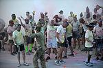 Dustoff Splash Dash 5K brings color to runners in Helmand province 140421-M-JD595-342.jpg