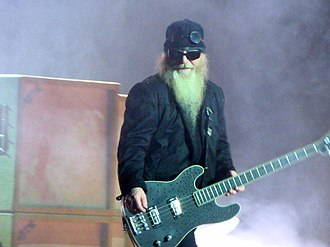 ZZ Top equipment - Image: Dusty Hill