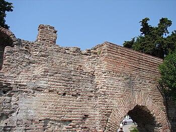 City walls of ancient Dyrrachium