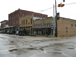 Eagle Lake TX FM 102 downtown.JPG