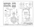 Early Iron Work, Mobile, Mobile County, AL HABS ALA,49-MOBI,230- (sheet 1 of 6).png