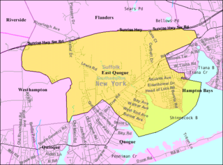 East Quogue, New York Hamlet and census-designated place in New York, United States