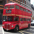 East London Routemaster RM1968 (ALD 968B) 30 June 2008 heritage route 15 Ludgate Hill cropped.jpg