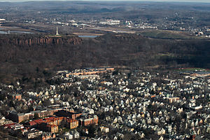East Rock - East Rock with its eponymous neighborhood below