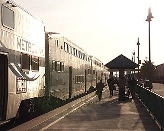 East Ventura station - East Ventura station at sunset