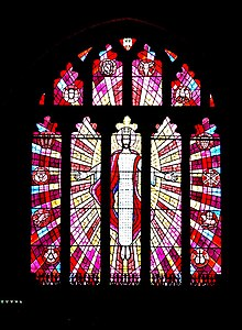 East window East window, St Mary's Church - Brecon - geograph.org.uk - 1361211.jpg