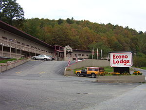 Econo Lodge - An Econo Lodge in Montpelier, Vermont circa 2004