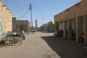 River Nile (state) - Market street in Ad-Damir