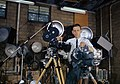 Ed Westcott with film making Equipment Oak Ridge 1960.jpg