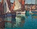Edgar Alwyn Payne Breton Tuna Boats, Concarneau, France.jpg