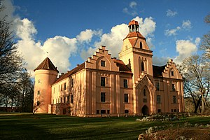 Ēdole Castle - Image: Edole Castle