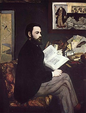 Portrait of Émile Zola (1848), by Édouard Manet