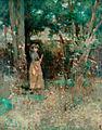 Edward Atkinson Hornel-La leñadora.jpg