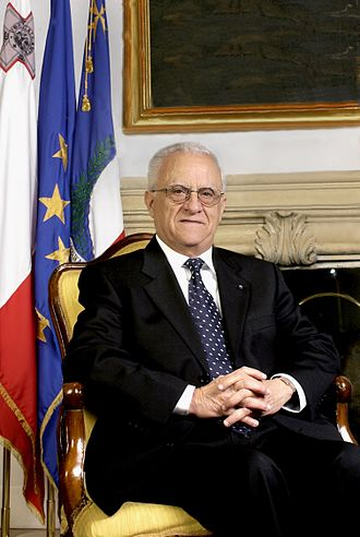 2003 Maltese general election - Image: Edward Fenech Adami