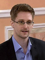 Photograph of Edward Snowden