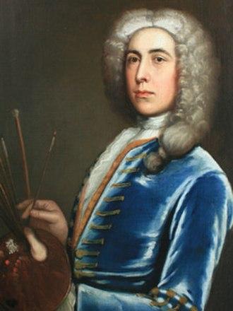 Edward Owen (artist) - Self-portrait of Edward Owen