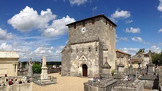 Bayas - Image: Eglise Ste Croix de Bayas
