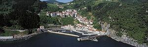 Elantxobe - The harbour and settlement