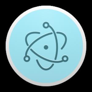 Electron (software framework) - Image: Electron 0.36.4 Icon