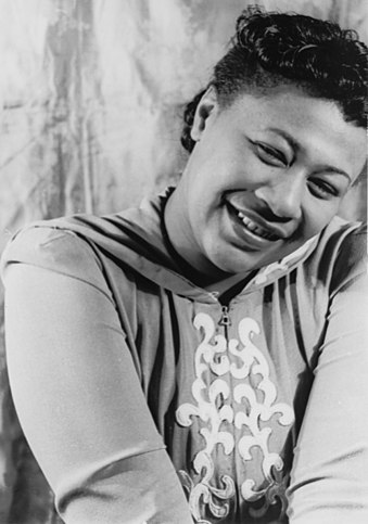 Ella Fitzgerald was the first recipient of the Award, in total she was a five-time award winner and fourth consecutive award winner. Ella Fitzgerald (1940).jpg