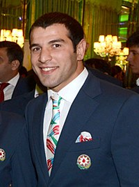 "Elnur Mamedli (""Day of Azerbaijan"" ceremony on the sidelines of the 30th Summer Games in London).jpg"