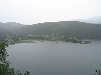 Elsfjord - View of the village
